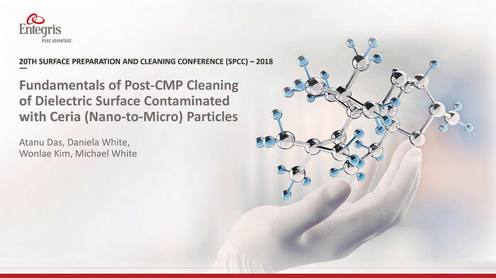Fundamentals of Post CMP Cleaning of Dielectric Surface Contaminated